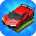 Merge Car game free idle tycoon MOD Unlimited Money 1.1.06