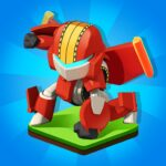 Merge Robots – Click Idle Tycoon Games MOD Unlimited Money 1.4.6