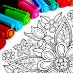 Mandala Coloring Pages MOD Unlimited Money 15.4.0