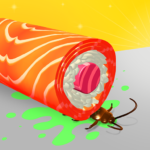 Sushi Roll 3D – Cooking ASMR Game MOD Unlimited Money 1.0.35