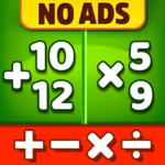Math Games – Addition Subtraction Multiplication MOD Unlimited Money 1.0.9