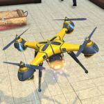 Drone Attack Flight Game 2020-New Spy Drone Games MOD Unlimited Money 1.5