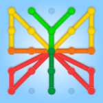 GeoBoard relaxing puzzle game drawing lines shapes MOD Unlimited Money