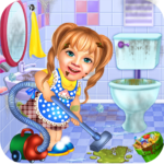 Sweet Baby Girl Cleaning Games 2021 House Cleanup MOD Unlimited Money