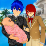 Anime Family Simulator Pregnant Mother Games 2021 MOD Unlimited Money