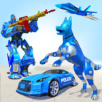 Grand Police Dog Robot Transforming Games 2022 MOD Unlimited Money