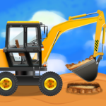 Construction Vehicles Trucks – Games for Kids MOD Unlimited Money