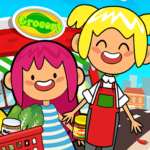 My Pretend Grocery Store – Supermarket Learning MOD Unlimited Money